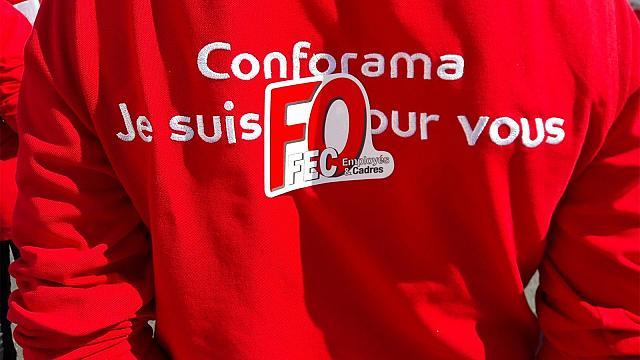 FO refuse que les salariés de Conforama payent l'addition  dans La Revue de Presse
